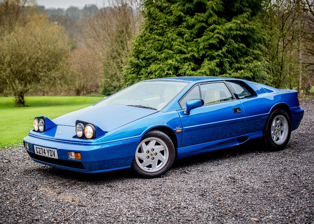 Lot 218 - 1989 Lotus Esprit
