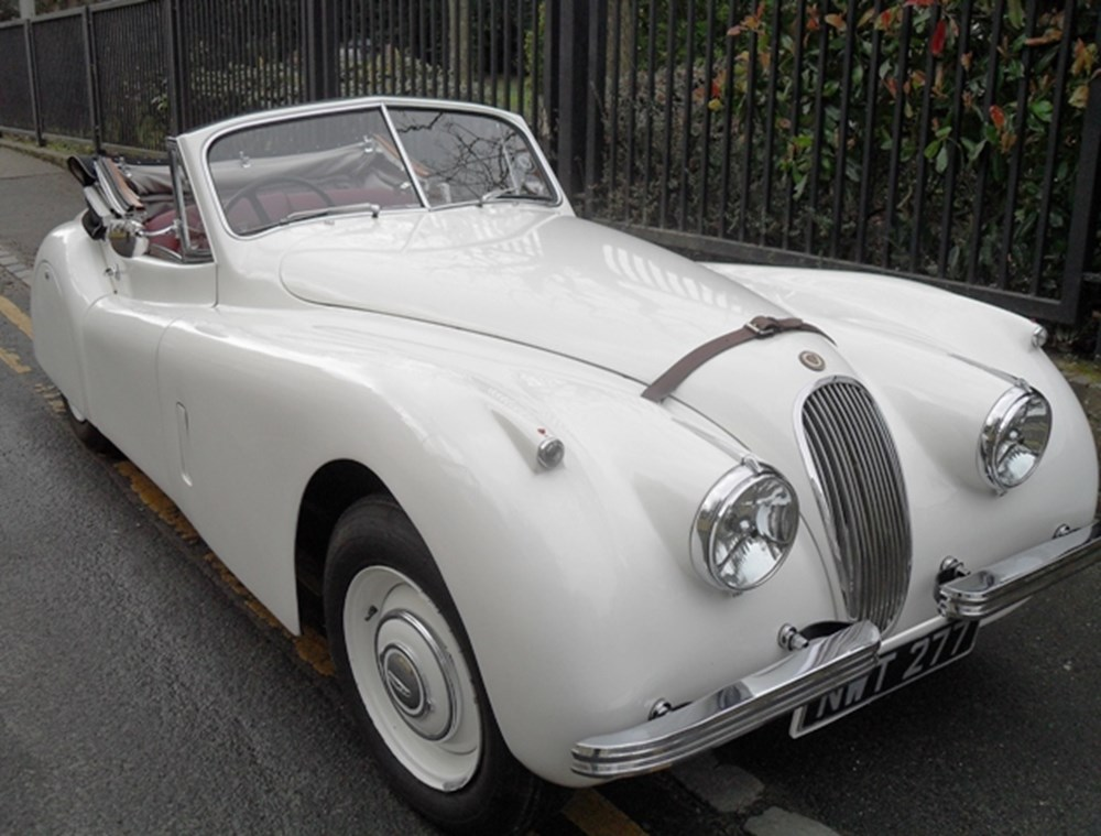 Lot 257 - 1954 12947 XK120 Drophead Coupé