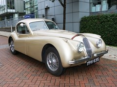 Navigate to Lot 273 - 1952 Jaguar XK120 Fixedhead Coupé