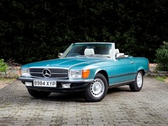 Navigate to Lot 259 - 1985 Mercedes-Benz 380 SL Roadster