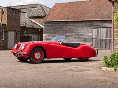 Navigate to Lot 206 - 1950 Jaguar XK120 Roadster (3.4 litre)
