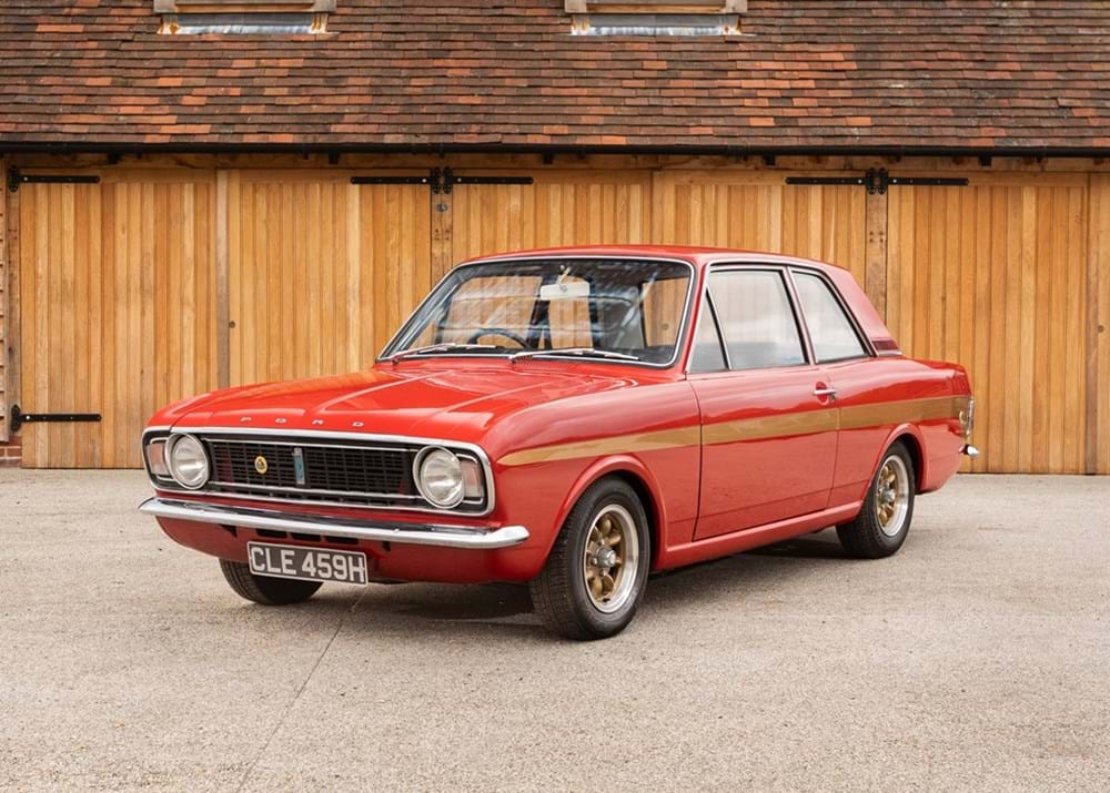 Lot 154 - 1969 Ford Lotus Cortina Mk. II