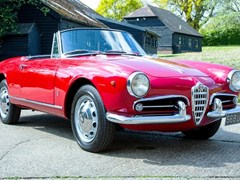 Navigate to Lot 259 - 1961 Alfa Romeo Giulietta Spider