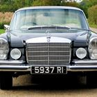 Ref 77 1970 Mercedes-Benz 280SE Coupe (black) -