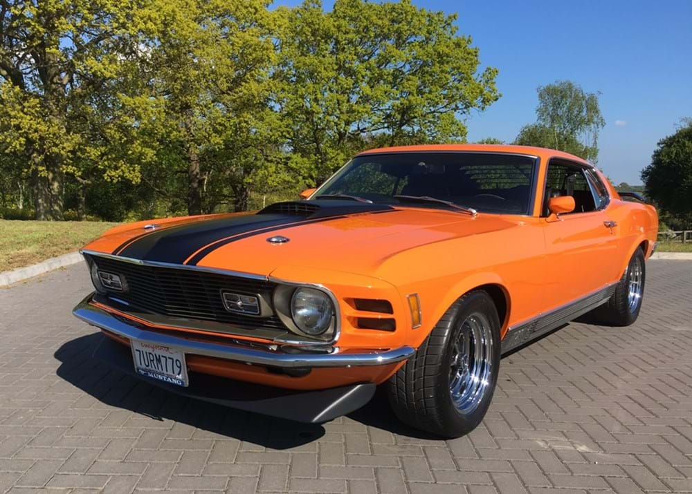 Lot 254 - 1970 Ford Mustang Mach 1