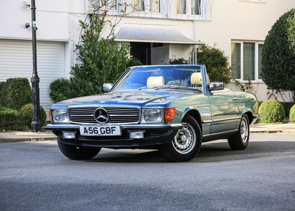 Lot 319 - 1983 Mercedes-Benz 280 SL Roadster