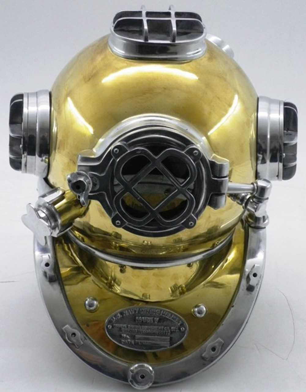 Lot 80 - Divers helmet.