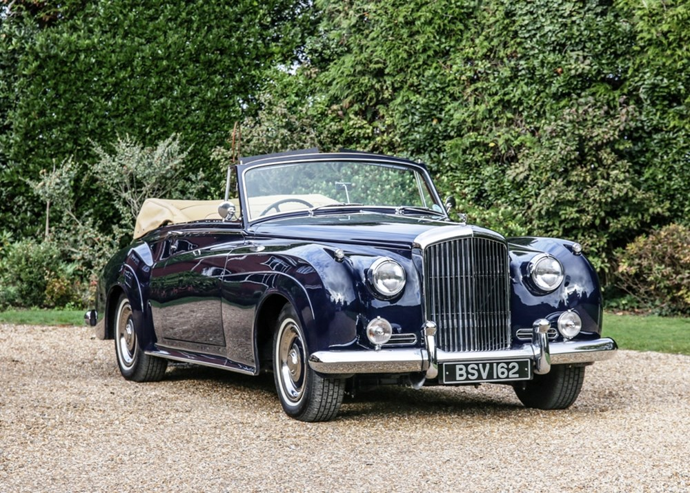 Lot 328 - 1957 Bentley SI Drophead Coupé in H. J. Mulliner style by Racing Green Engineering