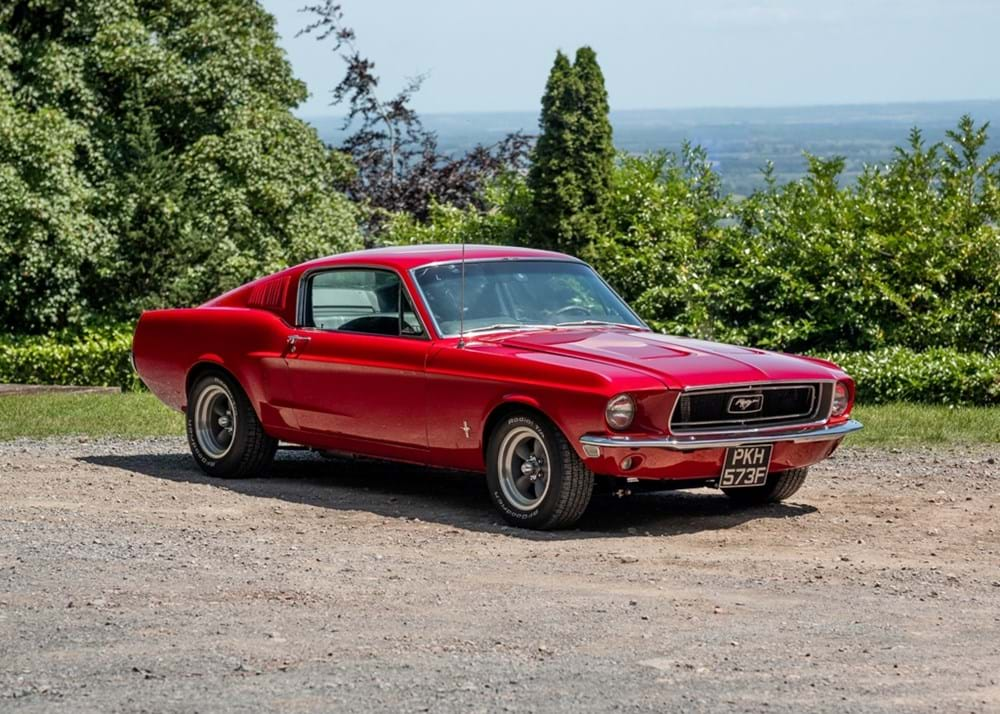Lot 212 - 1968 Ford Mustang Fastback
