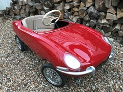 Navigate to Lot 101 - 1961  Tri-ang Jaguar E-Type Pedal Car