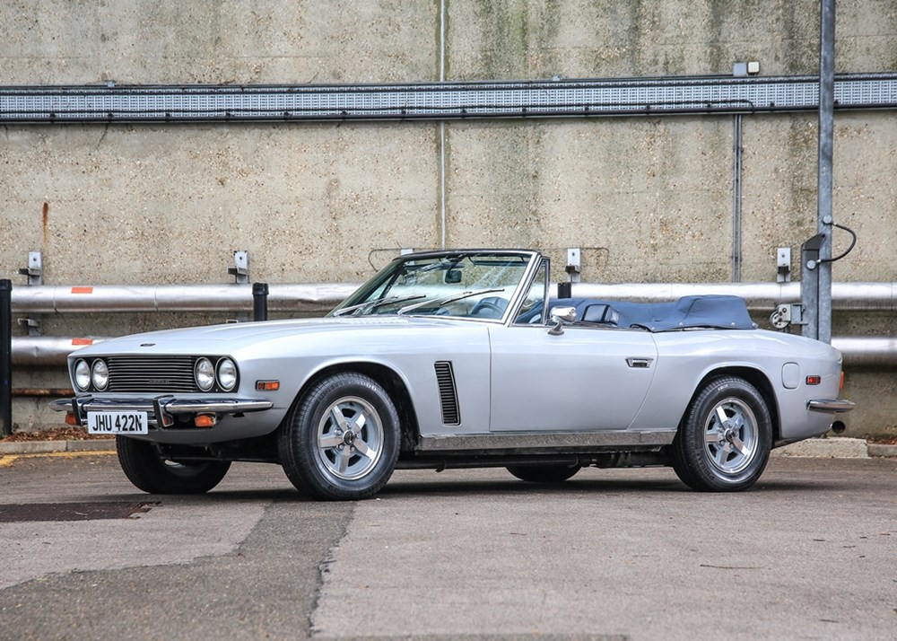 Lot 270 - 1975 Jensen Interceptor III Convertible
