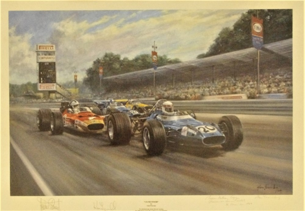 Lot 68. - Alan Fearnley  print