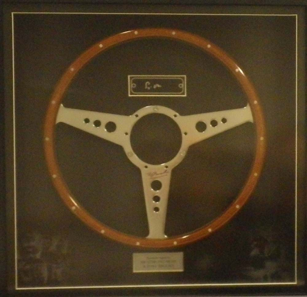 Lot 81. - A presentation steering wheel.