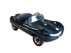 "Navigate to Jaguar ""D"" type ½ scale petrol driven child's car"
