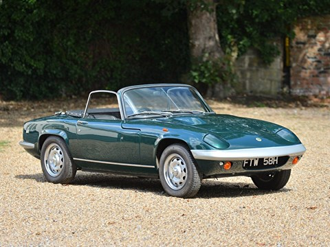 Ref 55 1969 Lotus Elan S4 Drophead Coupe