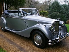 Navigate to Lot 249 - 1950 12947 Mk. V Drophead Coupé (3½ litre) *Reserve lowered*