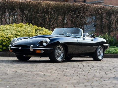 Ref 120  1969 Jaguar E-Type Series II Roadster (4.2 litre)