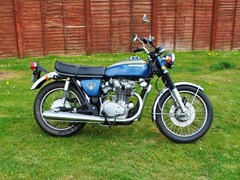 Navigate to Lot 247 - 1971 Honda CB450