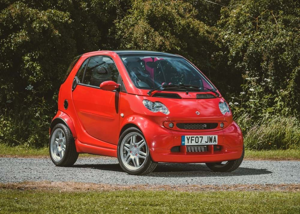 Lot 284 - 2007 Smart Brabus Edition Red