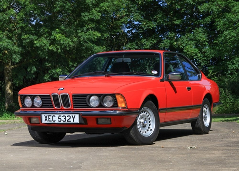 Lot 188 - 1983 BMW 628 CSi