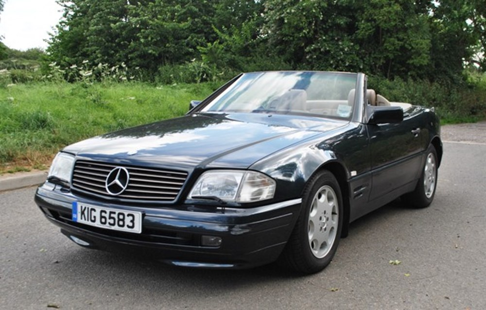 Lot 360 - 1996 Mercedes-Benz SL500 Roadster