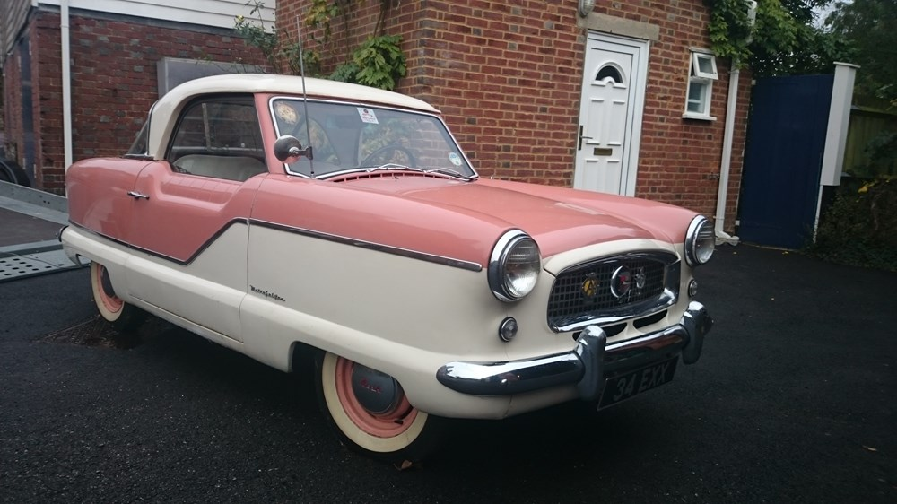 Lot 202 - 1957 Nash Metropolitan Series III