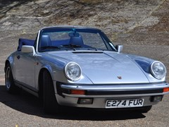 Navigate to Lot 155 - 1987 Porsche 911 Carrera Cabriolet
