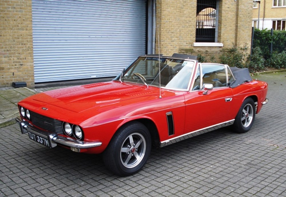 Lot 221 - 1974 Jensen Interceptor Convertible