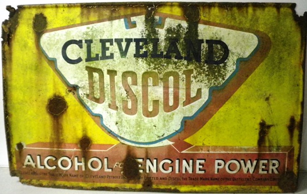 Lot 66 - Cleveland Discol sign.