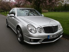 Navigate to Lot 246 - 2007 Mercedes-Benz E63 AMG