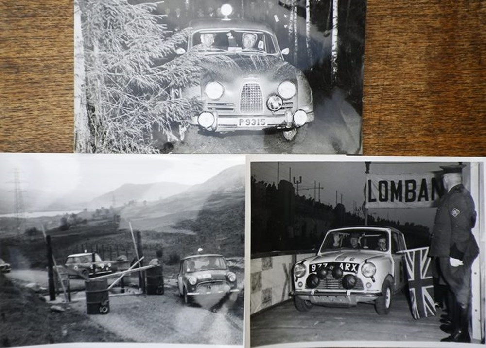 Lot 105 - Black & white photographs