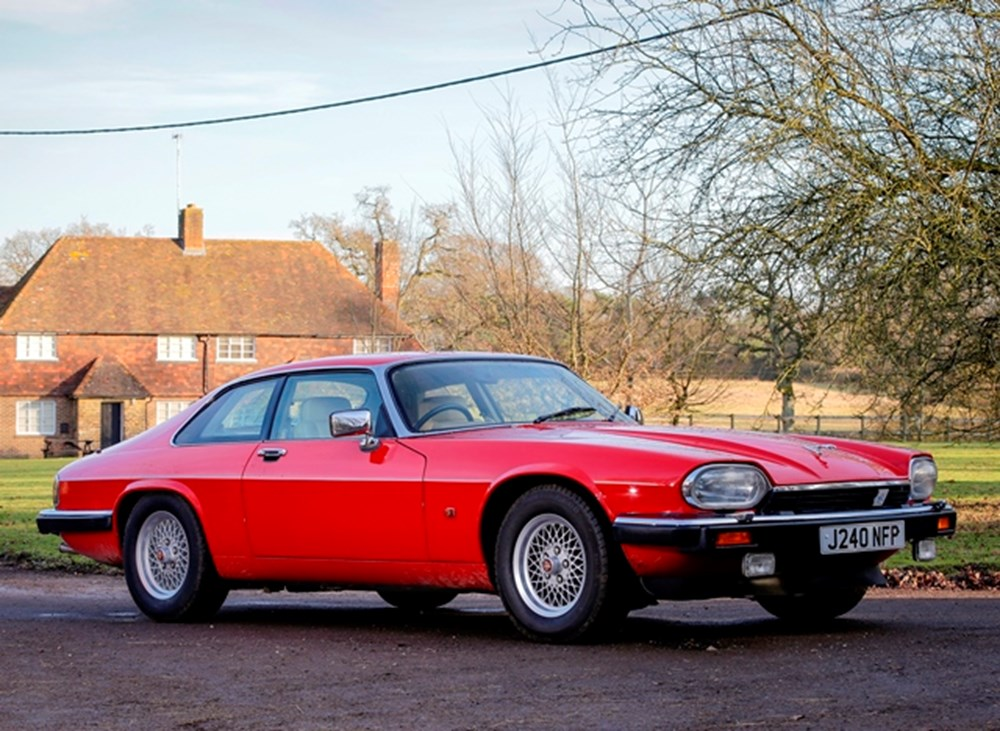 Lot 112 - 1992 Jaguar XJS Coupé