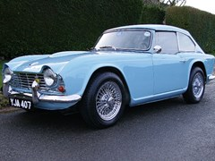 Navigate to Lot 239 - 1963 Triumph GTR4 Dové