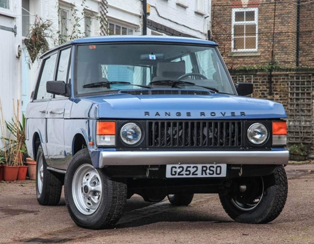Lot 216 - 1989 Range Rover Classic TD (Suffix-A styling)