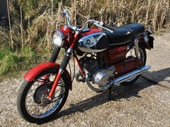 Navigate to Lot 398 - 1967 Suzuki 149cc Twin
