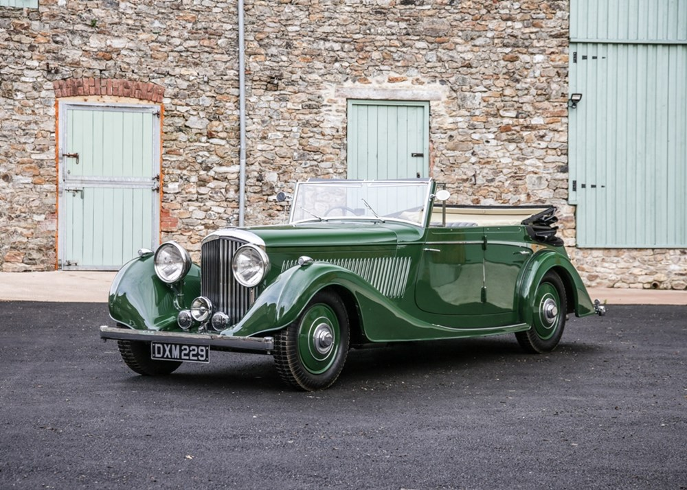 Lot 326 - 1937 Bentley 4¼ All Weather 'Wide Body' Tourer by Vanden Plas
