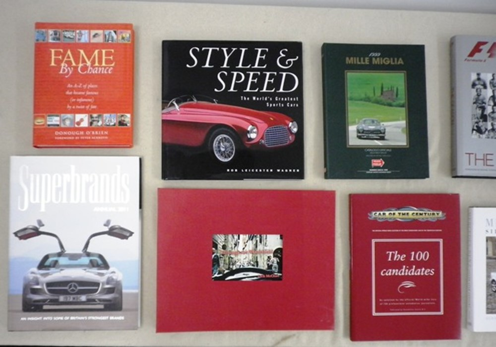 Lot 088 - Stirling Moss books