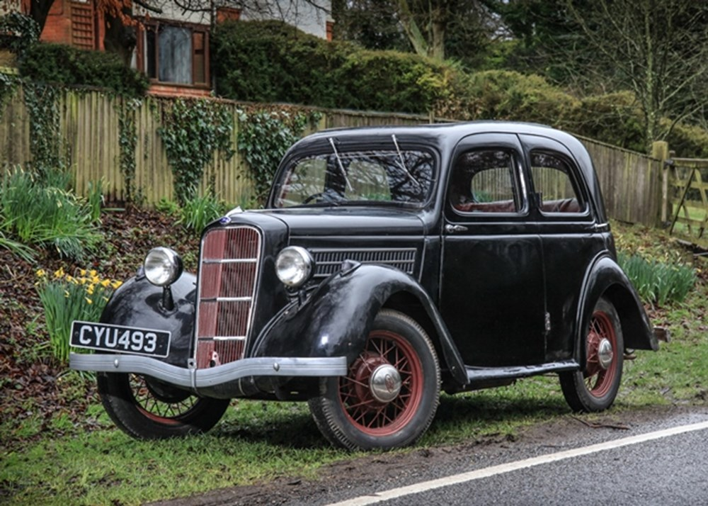 Lot 216 - 1936 Ford C Ten Saloon