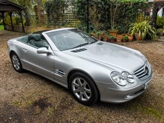 Navigate to Lot 352 - 2003 Mercedes-Benz SL500 Roadster