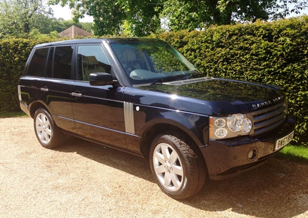 Lot 430 - 2008 Range Rover Vogue TDV8