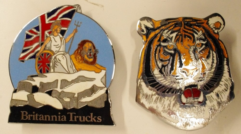 Lot 44. - Commercial vehicle badges.
