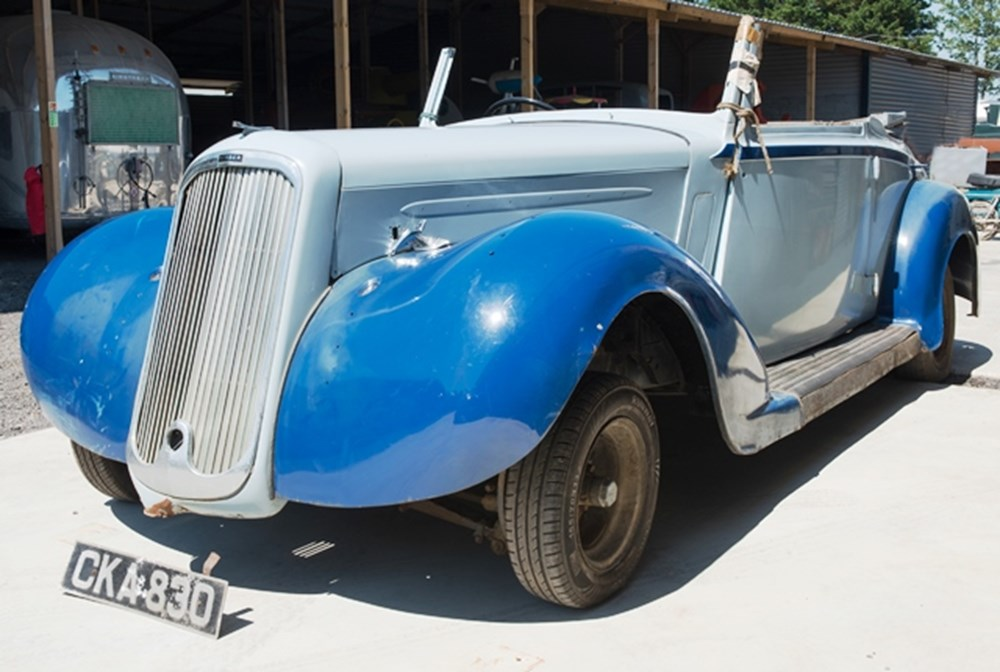 Lot 298 - 1936 Humber Snipe Foursome Drophead Coupé