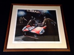 Navigate to Ferrari limited edition print