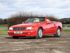Navigate to Lot 213 - 1992 Mercedes-Benz 300 SL-24V Roadster