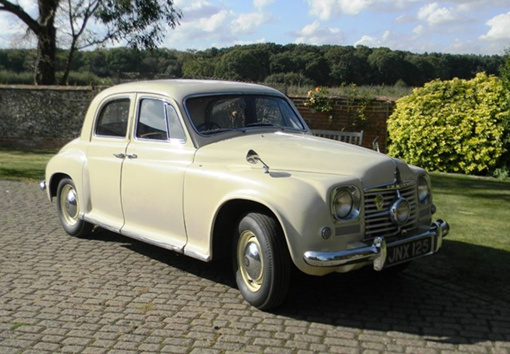 Lot 301 - 1949 Rover P4 75 (Cyclops)