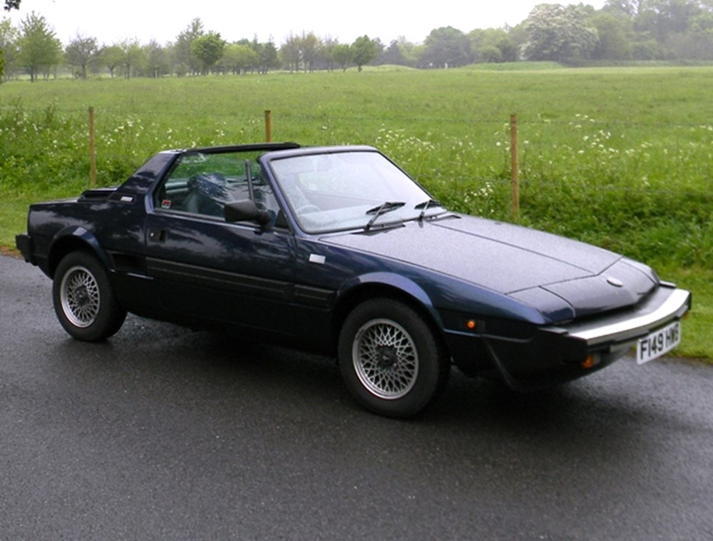 Lot 448 - 1988 Bertone X1/9 by Fiat