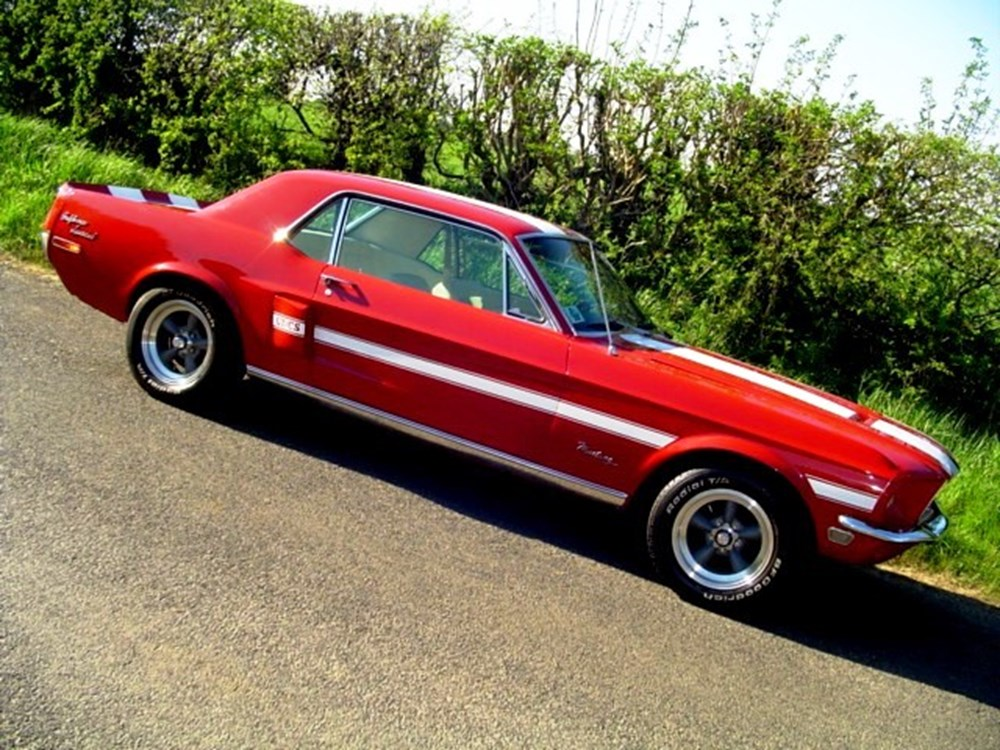 Lot 396 - 1968 Ford Mustang GT 'California Special'