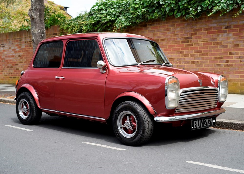 Lot 205 - 1970 Mini Margrave by Wood & Pickett