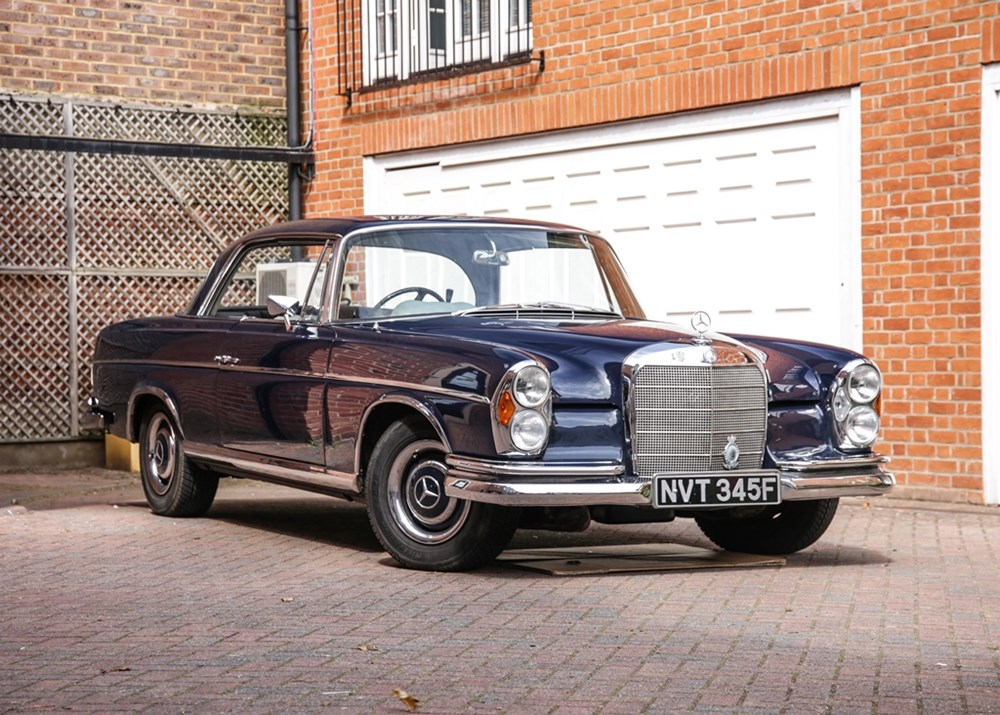 Lot 156 - 1967 Mercedes-Benz 300SE Coupé