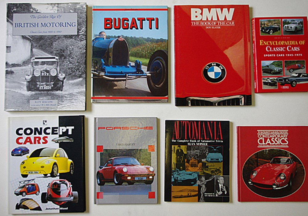 Lot 030 - Motoring books